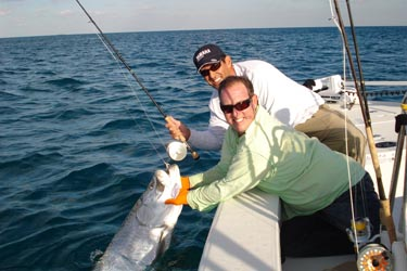 Light tackle and fly fishing pictures of snook redfish for Port st lucie fishing charters